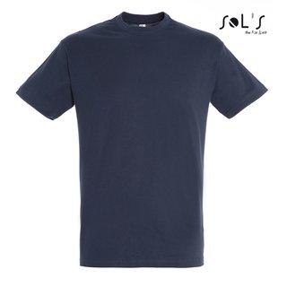 8b2404893512ca Imperial T-Shirt bedrucken Navy 3XL Sol´S ...