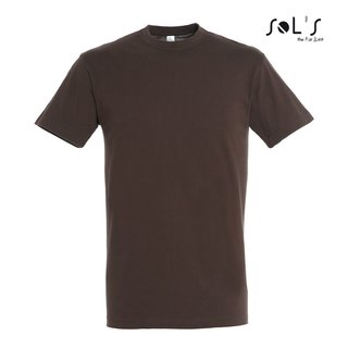Imperial T-Shirt bedrucken Chocolate M Sol´S