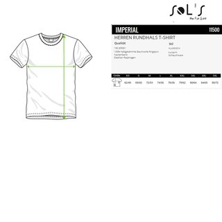 Imperial T-Shirt bedrucken Apple Green XS Sol´S