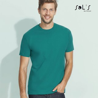 Imperial T-Shirt bedrucken Apple Green XXL Sol´S