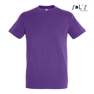 Imperial T-Shirt bedrucken Light Purple XL Sol´S