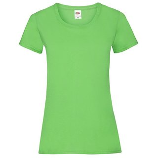 Valueweight  Lady fit T-shirt Girlie Lime Green S Fruit of the Loom