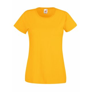 Valueweight  Lady fit T-shirt Girlie Sunflower M Fruit of the Loom