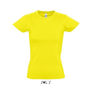Imperial Women T-Shirt bedrucken Lemon XXL Sol´S