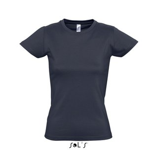 Imperial Women T-Shirt bedrucken Navy XL Sol´S