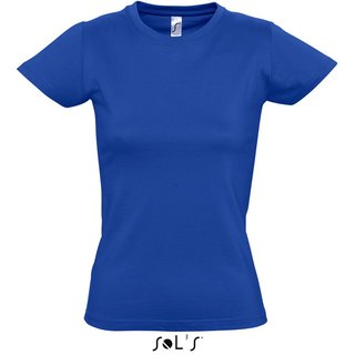 Imperial Women T-Shirt bedrucken Royal Blue XXL Sol´S