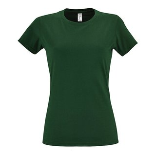 Imperial Women T-Shirt bedrucken Bottle Green M Sol´S