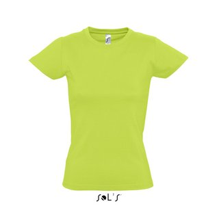 Imperial Women T-Shirt bedrucken Apple Green S Sol´S
