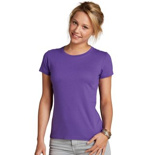 Imperial Women T-Shirt bedrucken Dark Purple S Sol´S