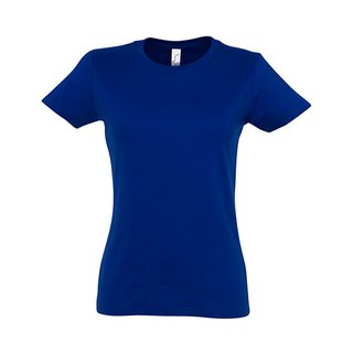 Imperial Women T-Shirt bedrucken Ultramarin XL Sol´S