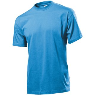 Classic T-Shirt bedrucken Light blue Medium Stedman