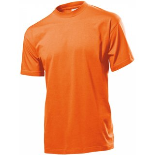 Classic T-Shirt bedrucken Orange XX-Large Stedman