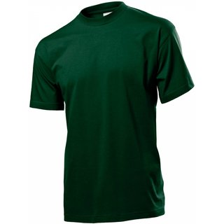 Classic T-Shirt bedrucken Bottle green Small Stedman