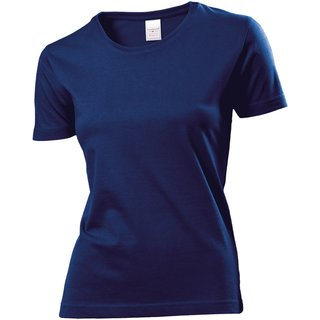 557066642fb220 Classic T-Shirt bedrucken Women Navy blue Large Stedman ...