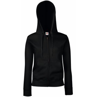 Premium Hooded Sweat bedrucken  Jacket Lady-Fit  Fruit of the Loom