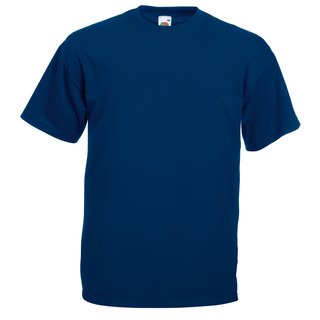 Valueweight T-Shirt bedrucken 5X-Large Navy Fruit of the Loom